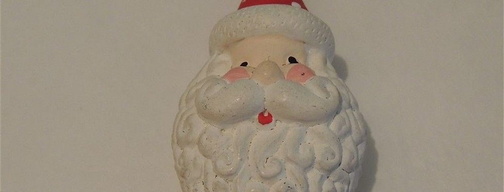Christmas Discount - Hand Painted Santa Face Ornament