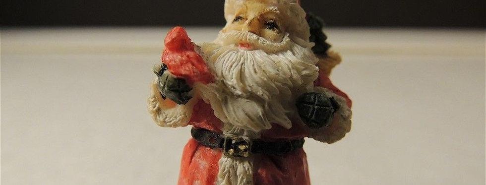 Christmas Decoration - Cute Little Santa Figurine