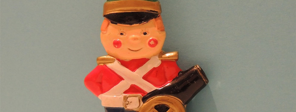 Christmas Ornament - Soldier with Cannon