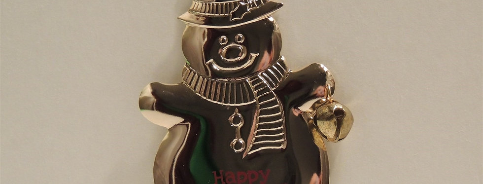 Christmas Ornament - Snowman Happy Holidays