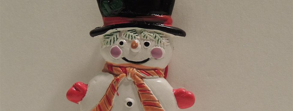 Christmas Ornament - Ceramic Snowman