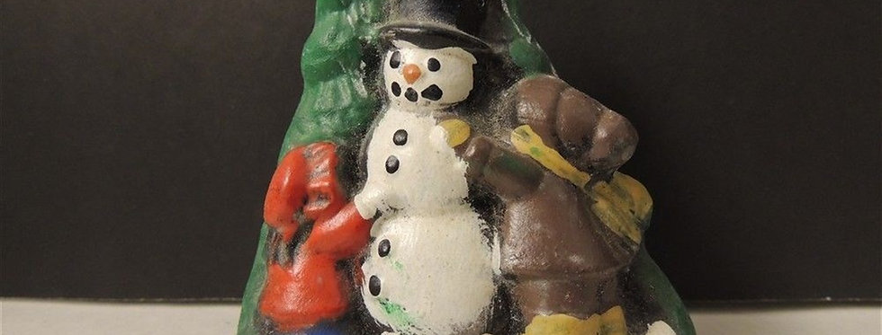 Christmas Discount - hand painted holiday snowman decoration