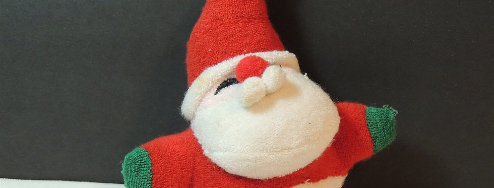 Christmas Ornament - Cute Plush Santa