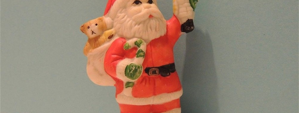 Christmas Discount - Vintage Santa with Toys Ornament