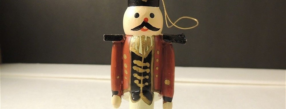 Christmas Ornament - Handmade toy soldier tree