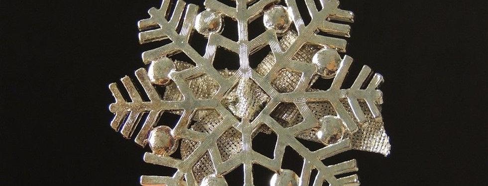Christmas Ornament - Snowflake bling tree