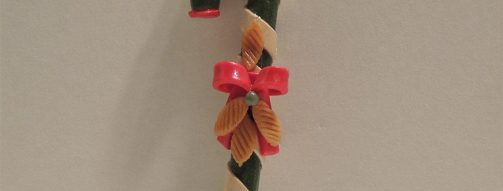Christmas Ornament - Handmade Candy Cane Dough