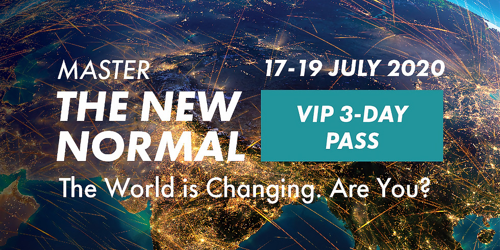 Master The New Normal - VIP 3 Days Unlimited Access