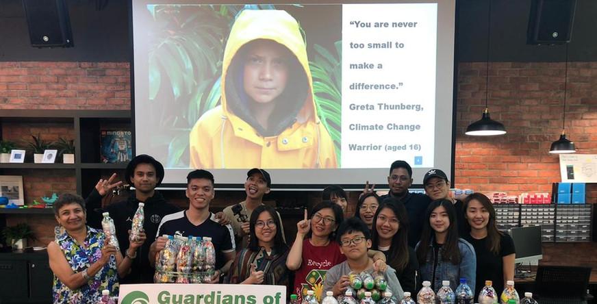 Ecobrick Session with Sunway University & the Sunway Environmental Society