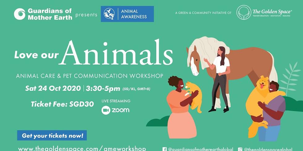 Animal Awareness: Loving Our Animals