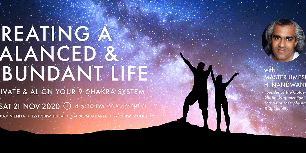 Creating A Balanced & Abundant Life: Activate & Align Your 9 Chakra System