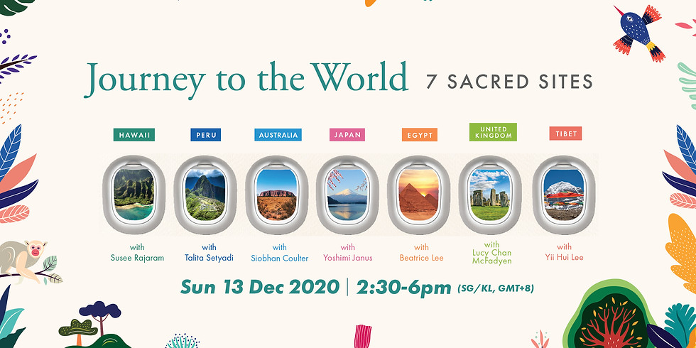 Journey to the World: Discover 7 Sacred Sites Gateway