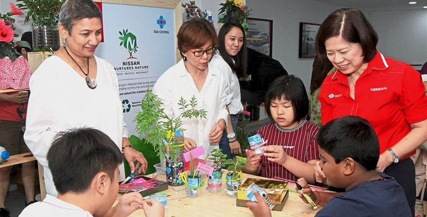Herb Planting with Nissan