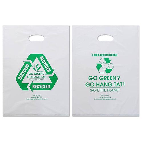 Recycled PO Die-cut Handle Bag
