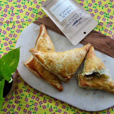 Indian Turnovers - A Perfect Snack