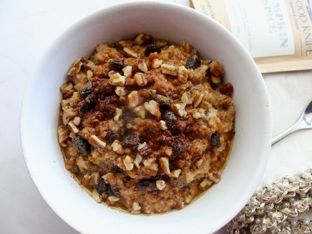 Pumpkin Spice - Brown Butter Oatmeal