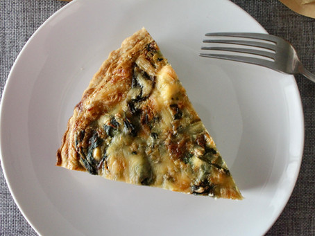 Poultry Seasoning - Chicken-Spinach Quiche