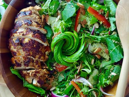 Tandoori Dry Rub - Tandoori Chicken (in a pan)