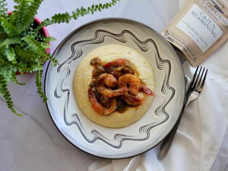 Cajun Seasoning - Cajun Shrimp and Cheddar Grits