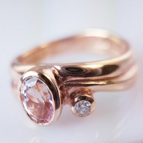 Julie- Diamond& Pink Diamond  Ring.jpg