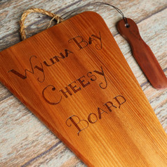 Wyuna Bay Cheesy Board.