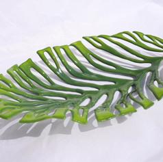 Nikau Leaf Small 3d Plate.