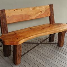 Macrocarpa& Totara  Bench Seat.