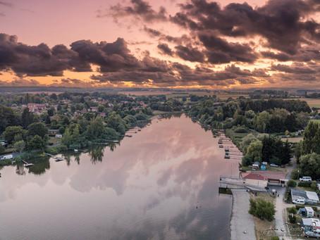 L'étang de Hirbach ! Comme un air de vacances sur la côte mais en Moselle-EST...