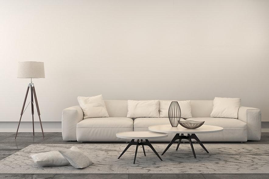 Weiß Wohnzimmer