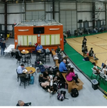 Panoramic Picture Volleyball tournament.
