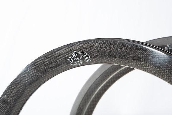 20 inch 28h Mini/Junior Rimset Black - Low Profile