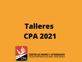 TALLERES CPA BÁSICA 2021