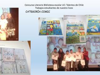 Concurso literario Biblioteca Escolar Futuro 2017: Talentos de Chile