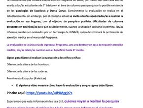 PESQUISA PATOLOGÍAS ESCOLIOSIS Y DORSO CURVO ESTUDIANTES 7º BÁSICO