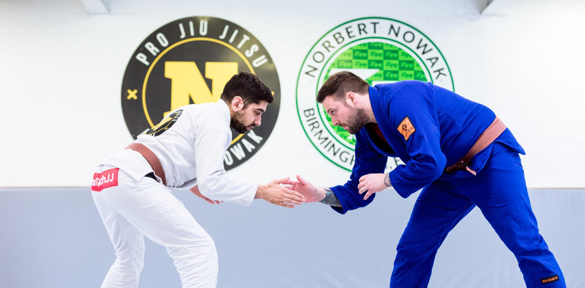 Gary shackleton Brown Belt Brazilian Jiu Jitsu