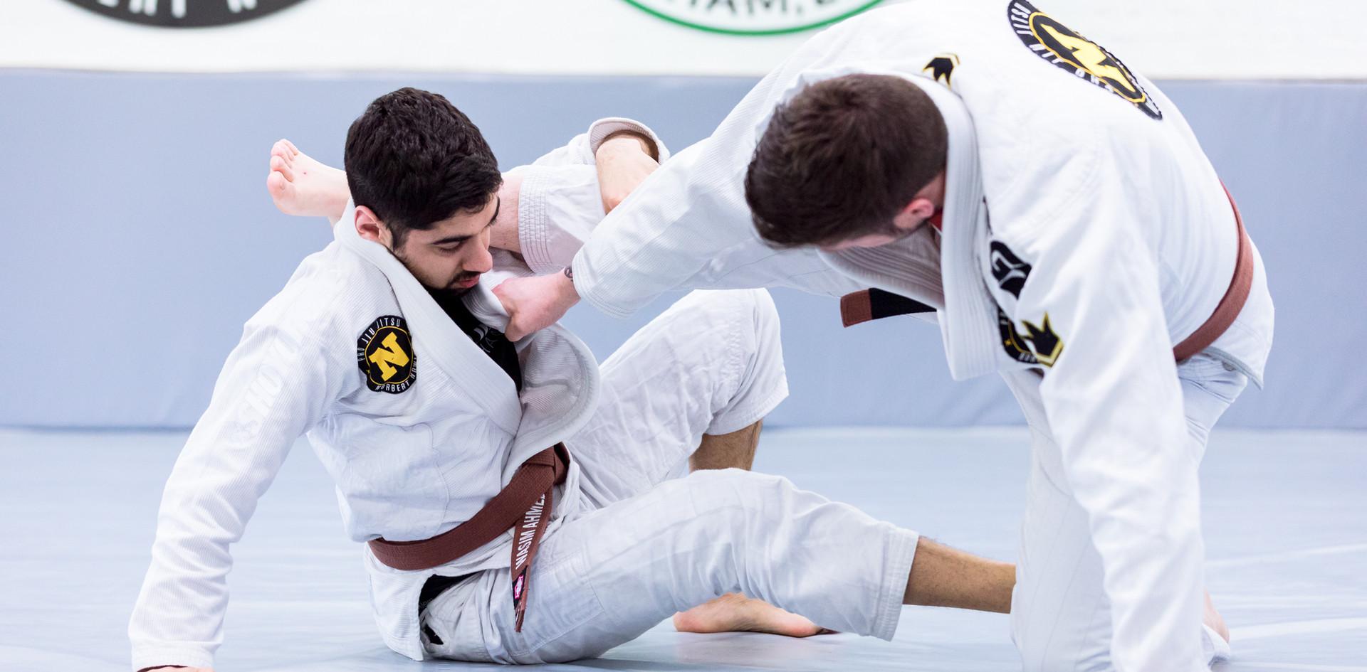 X guard sweep Brazilian Jiu Jitsu