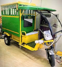Krishna School e-van