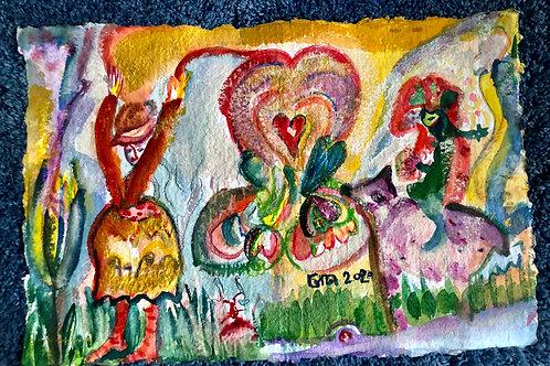 Valentine Love 18x12 inches