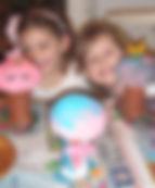 כמו פטריות אחרי הגשם - פסלי עיסת נייר - סדנת ילדים בסטודיו של מיה לנדאו