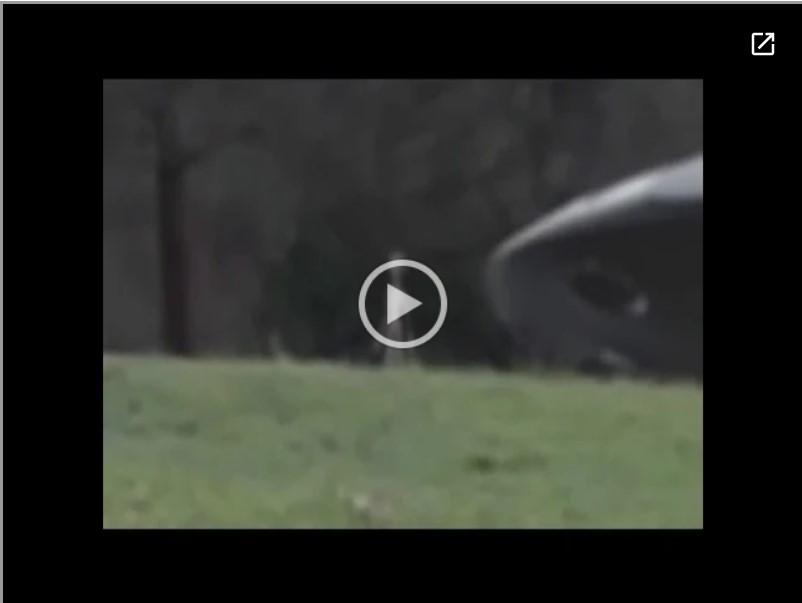 Incrível Dois Alienígenas são Filmados Entrando em seu Ovni