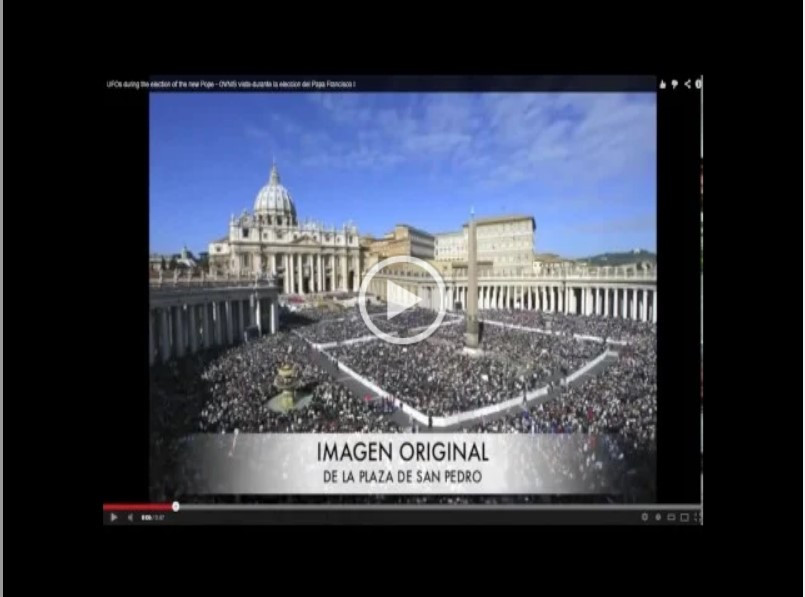 9 Ovnis Aparecem no dia da Eleição do Papa Francisco