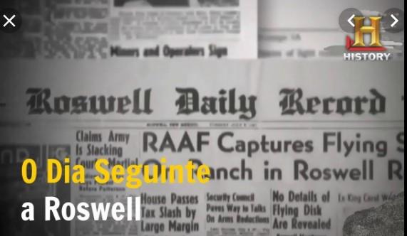 O Dia Seguinte a Roswell