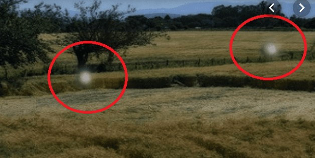 Sondas Alienígenas são Flagradas Fazendo Crop Circles em Plantação
