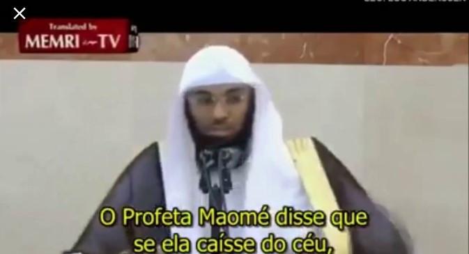 Sheik Árabe Diz que a Terra é Plana