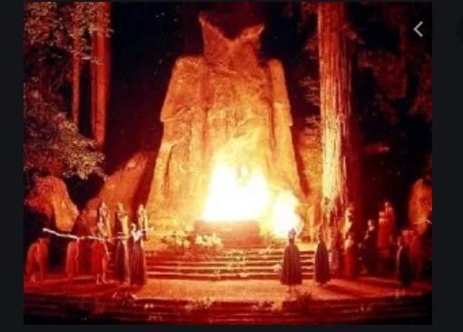Ritual Satânico Illuminati em Bohemian Grove Norte da Califórnia