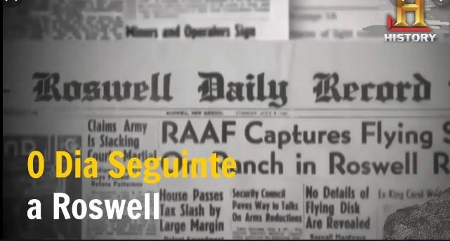 Arquivos Extraterrestres O Dia Seguinte a Roswell