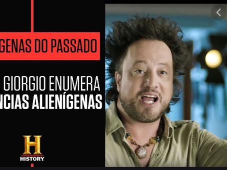 Giorgio Enumera 10 Evidências Alienígenas na América Latina
