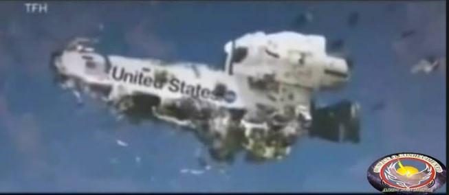 Imagens Impressionantes de 2 Ovnis Aproximando-se do Ônibus Espacial Columbia