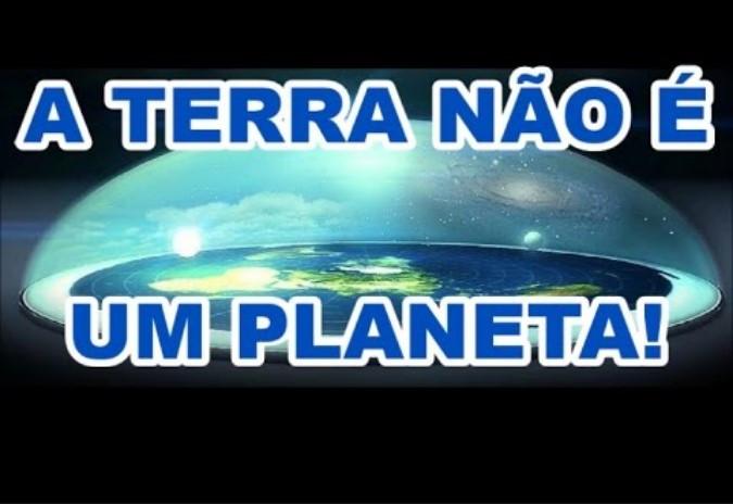 Por que a Terra é Plana e os Astros são Esféricos