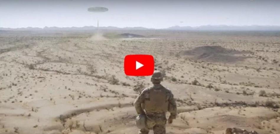 OVNI gigante filmado pelos fuzileiros navais dos EUA no deserto do Arizona